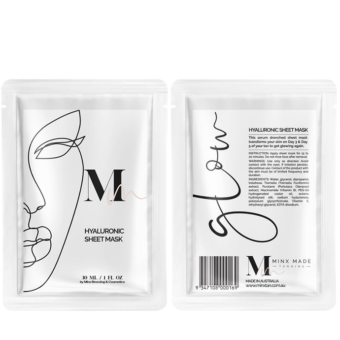 HYALURONIC SHEET MASK - Beautiful Creatures Makeup & Beauty