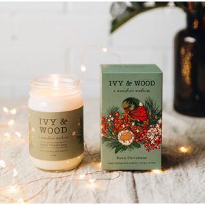 Bush Christmas Limited Edition Christmas Candle - Beautiful Creatures Makeup & Beauty