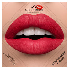Load image into Gallery viewer, STRAWBERRY FIELDS Liquid to Matte Longwear Lipstick 3.5ml - Beautiful Creatures Makeup & Beauty