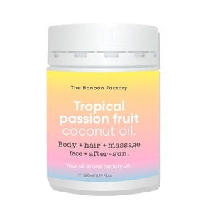 Tropical Coconut Oil | Limited Edition 260ml - Beautiful Creatures Makeup & Beauty