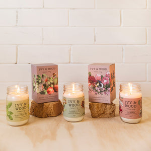 Australiana: Australian Florals Soy Candle - Beautiful Creatures Makeup & Beauty