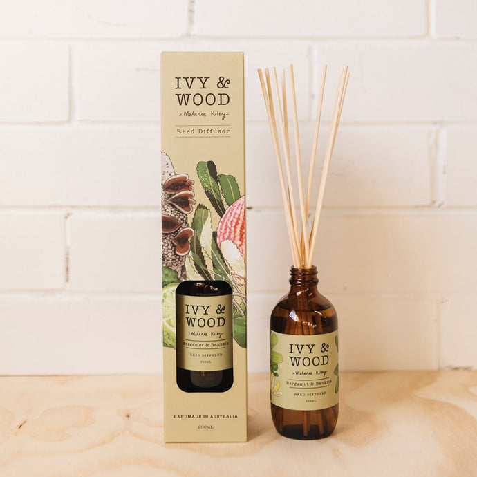 Australiana: Bergamot & Banksia Reed Diffuser - Beautiful Creatures Makeup & Beauty