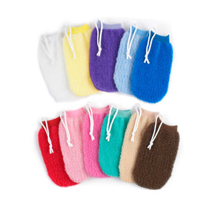 Milano Exfoliating Mitts - Beautiful Creatures Makeup & Beauty