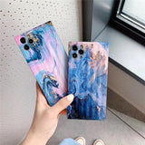 Hot Fashion Colored Marble Iphone Case