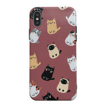 Load image into Gallery viewer, Retro Red Cute Cat Soft Casing