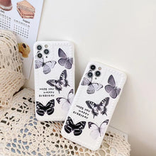 Load image into Gallery viewer, Korean Fashion Creative White Grey Butterfly Frame