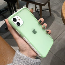 Load image into Gallery viewer, Korean Fashion Pretty Double Color Matte Soft Casing