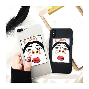 Creative Funny I Am Cool Soft Casing