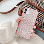Load image into Gallery viewer, Korean Pink Leopard Print Soft Casing