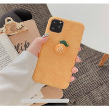 Load image into Gallery viewer, Fashion Cute Yellow Pineapple Soft Casing