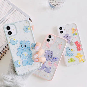 Fashion Cute Candy Color Little Bear Gold