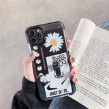 Korean Creative Daisy Flower Soft Casing