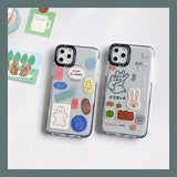 Korean Cute Colored Cartoon Koala Soft Casing