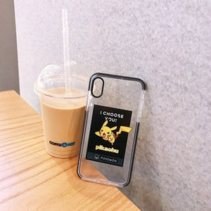 New Style Cute Cartoon Transparent Soft Casing