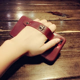 Korean Fashion Popular Leather Wristband Soft Casing