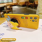 Unique Cute Traffic Light Soft Cover With Stand Case