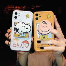 Load image into Gallery viewer, Creative Snoopy with Stand Soft Casing