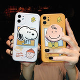 Creative Snoopy with Stand Soft Casing