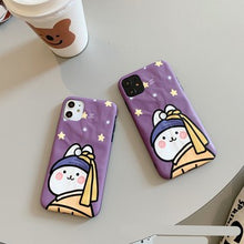 Load image into Gallery viewer, Creative Pretty Purple Rabbit Soft Casing