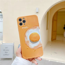 Load image into Gallery viewer, Fashion Cute Yellow Egg Iphone Case