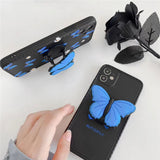 Pretty Blue Butterfly WIth Stand