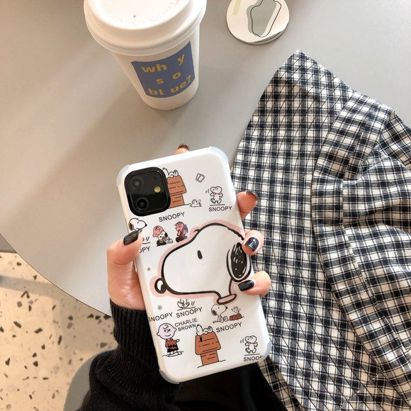 New Cute Cartoon Snoopy Soft Casing