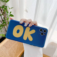 Load image into Gallery viewer, Fashion Cool Red Blue OK Soft Casing