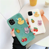 Creative Cute Little Yellow Duck Soft Casing