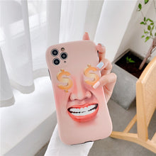 Load image into Gallery viewer, Creative Funny Face Iphone Case