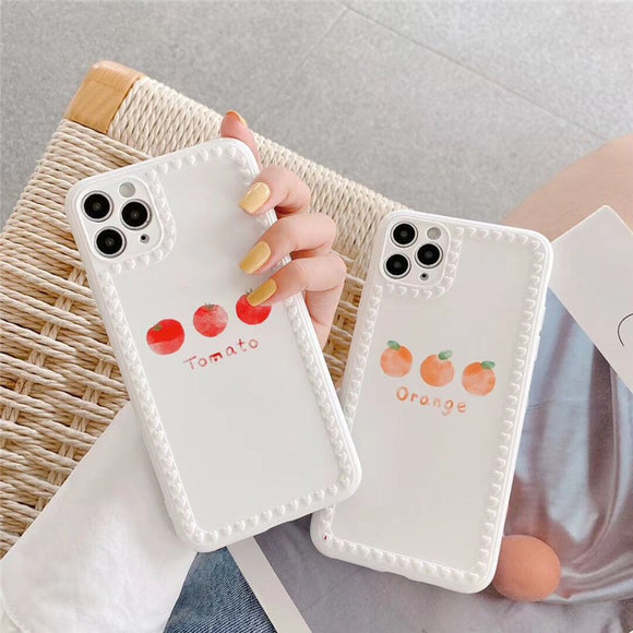 Cute Orange Tomato Iphone Case