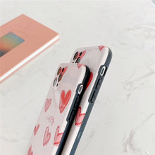 Load image into Gallery viewer, Fashion Nice Pink Love Heart Soft Casing