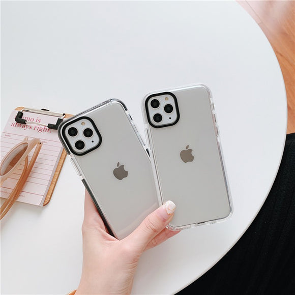 Simple Transparent Iphone Case