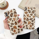 New Style Fashion Cute Leopard Shell Soft Casing