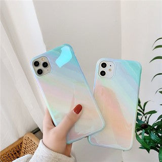 Korean Fashion Gradient Rainbow Soft Casing