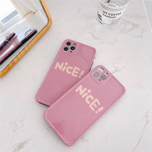 Load image into Gallery viewer, Korean Pretty Fashion Pink Nice Wording Casing