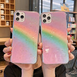 Load image into Gallery viewer, Hot Selling Korean Fashion Gold Foil Rainbow Soft Case