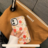 Style Korean Cute Colored Fruit Soft Case