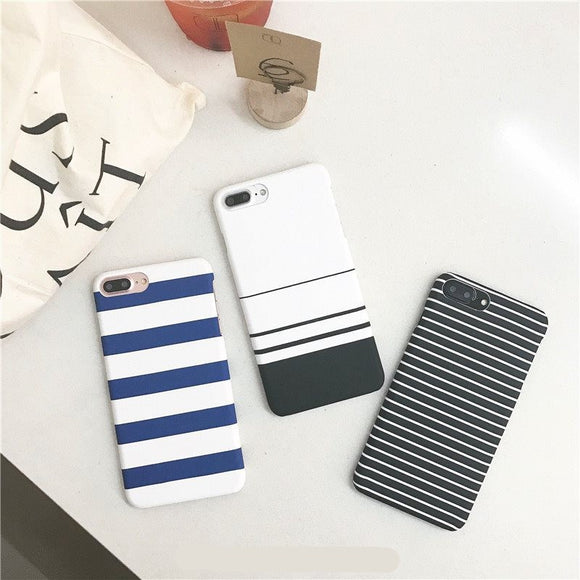 Fashion Stripe Hard Casing