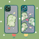 Cute Cartoon Dinosaur Iphone Case