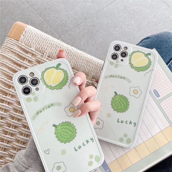 Simple Fashion Durian Soft Casing Iphone Case
