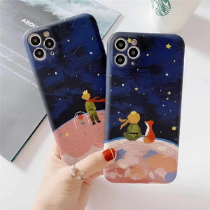 Little Prince Rose Iphone Case Soft Casing