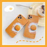Fashion Cute Yellow Egg Iphone Case