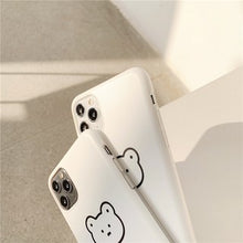 Load image into Gallery viewer, Creative Cute White Little Bear Soft Casing