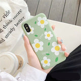 Korean Simple Nice Daisy Flower Soft Cover