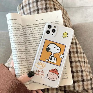 Snoopy Full Camera Protective Soft Case