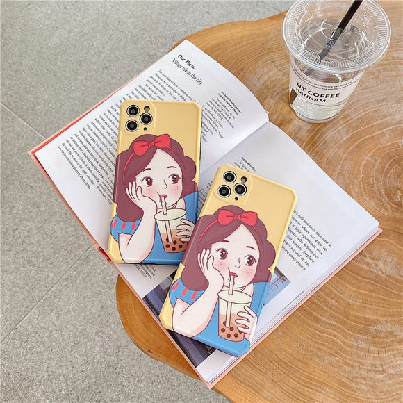 Milk Tea Princess Cute iPhone case