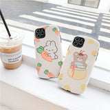 Cute Lemon Rabbit Casing
