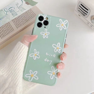 Simple Pretty Flower Iphone Case
