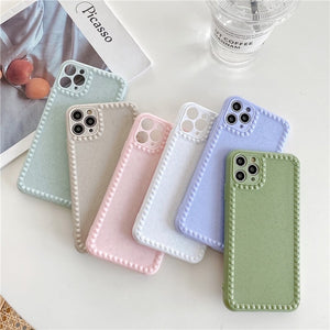 Hot Selling Full Protection Simple Candy Color Iphone Case