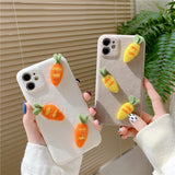 3D Fruit Fabric iPhone casing